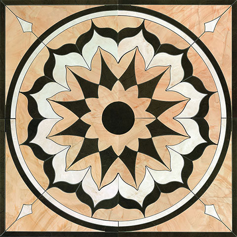 Grespania Palace +10766 Панно керамич. BUCKINGHAM INDALO, 120x120