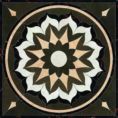 Grespania Palace +10767 Панно керамич. BUCKINGHAM PULPIS, 120x120