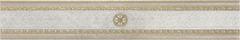 Grespania Palace +17110 Бордюр керамич. AMBRAS 1 GRIS, 9,6X59