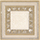 Grespania Palace +17115 Вставка керамич. AMBRAS 2 BEIGE, 9,6X9,6