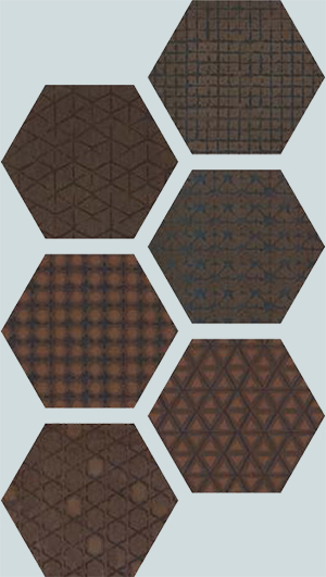Imola Le Terre +17524 Плитка облиц. керамич. MALIKA 6 T, 26x30